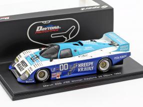 March 83G #00 Winner 24h Daytona 1984 van der Merwe, Duxbury, Martin 1:43 Spark