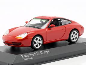 Porsche 911 (996) Coupe Year 1998 red 1:43 Minichamps