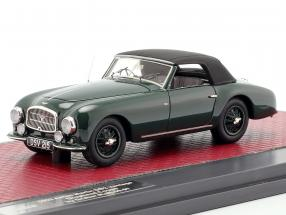 Aston Martin DB2 Vantage DHC Drophead coupe closed Top 1952 green 1:43 Matrix