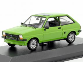 Ford Fiesta Year 1976 lime 1:43 Minichamps