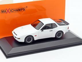 Porsche 924 GT Year 1981 white 1:43 Minichamps
