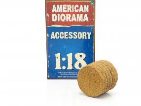 Hay Bale 1:18 American Diorama