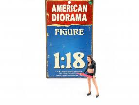 Umbrella Girl figure I 1:18 American Diorama