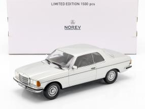 Mercedes-Benz 280 CE C123 Coupe Year 1980 silver 1:18 Norev