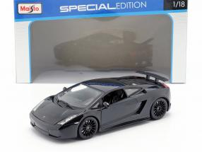 Lamborghini Gallardo Superleggera year 2007 black 1:18 Maisto