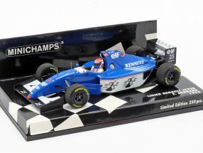 Eric Bernard Ligier JS39B #25 formula 1 1994 1:43 Minichamps