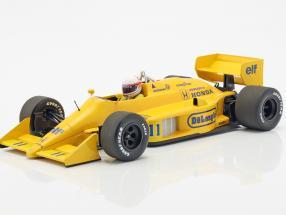 Satoru Nakajima Lotus 99T #11 Monaco GP formula 1 1987 1:18 Minichamps