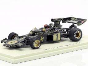 Emerson Fittipaldi Lotus 72E #1 Winner spanish GP formula 1 1973 1:43 Spark