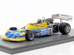 Ronnie Peterson March 761 #10 Monaco GP formula 1 1976 1:43 Spark