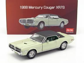 Mercury Cougar XR7G year 1968 seafoam green 1:18 SunStar