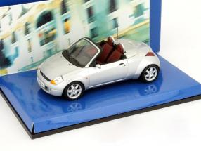 Ford Streetka roadster silver Year 2003 1:43 Minichamps