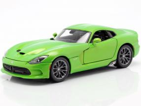 Dodge Viper GTS Coupe Year of construction 2013 lime metallic 1:18 Maisto