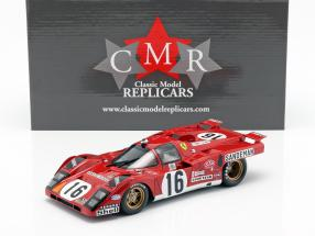 Ferrari 512 M #16 4th Place 24h LeMans 1971 Craft, Weir 1:18 CMR