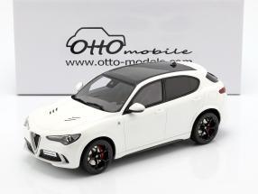 Alfa Romeo Stelvio Quadrifoglio year 2017 white 1:18 OttOmobile