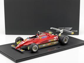 Gilles Villeneuve Ferrari 126C2 #27 Long Beach GP formula 1 1982 1:12 GP Replicas