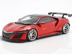 Honda NSX LB-Works year 2016 candy red 1:18 GT-Spirit