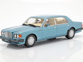 Bentley Turbo-L LWB year 1989 light blue metallic 1:18 GT-Spirit