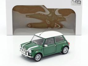 Mini Cooper 1.3i Sport Pack year 1997 green / white 1:18 Solido