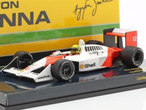 Ayrton Senna McLaren MP4/4 #12 British GP World Champion F1 1988 1:43 Minichamps