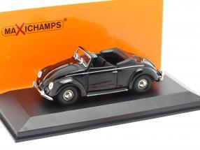 Volkswagen VW Hebmüller Cabriolet year 1950 black 1:43 Minichamps