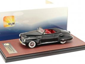Buick Roadmaster Convertible 76C Open year 1941 black 1:43 GLM