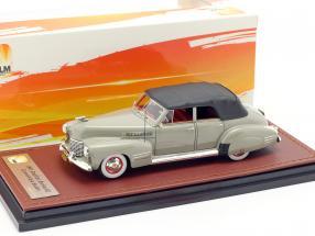 Cadillac Series 62 Convertible Sedan Closed year 1941 gray 1:43 GLM