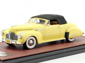 Buick Roadmaster Convertible 76C Closed year 1941 yellow 1:43 GLM