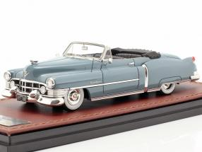 Cadillac Series 62 Convertible Open year 1951 blue 1:43 GLM
