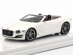 Bentley EXP 12 Speed 6E Cabriolet year 2015 white 1:43 TrueScale
