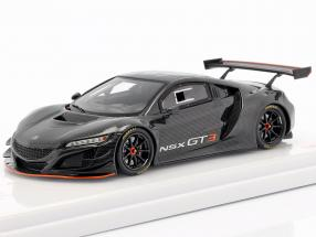 Acura NSX GT3 Showcar Pebble Beach 2017 black 1:43 TrueScale