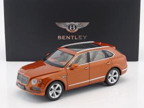 Bentley Bentayga year 2017 orange flame 1:18 Kyosho / 2. choice