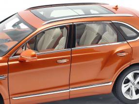 Bentley Bentayga year 2017 orange flame 1:18 Kyosho / 2. choice