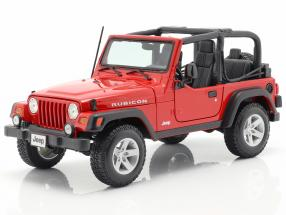 Jeep Wrangler Rubicon red 1:18 Maisto