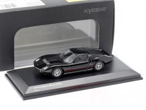Lamborghini Miura P400 black 1:64 Kyosho