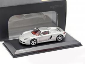Porsche Carrera GT silver metallic 1:64 Kyosho