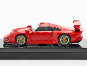 Porsche 911 GT1 year 1996 red