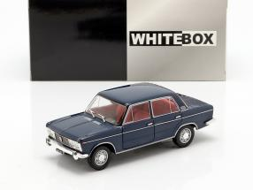 Fiat 125 Special year 1968-1972 dark blue 1:24 WhiteBox