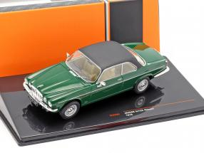 Jaguar XJ12C coupe year 1976 dark green / black 1:43 Ixo