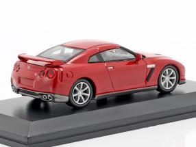 Nissan GT-R (R35) red