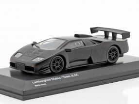 Lamborghini Diablo Team JLOC mat black 1:64 Kyosho