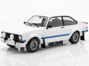 Ford Escort MK II RS 1800 RHD year 1977 white 1:18 Ixo