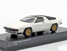 Lamborghini Silhouette white 1:64 Kyosho