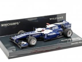 Rubens Barrichello Williams FW32 #9 formula 1 2010 1:43 Minichamps