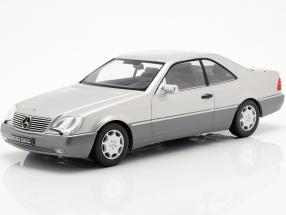 Mercedes-Benz 600 SEC (C140) year 1992 silver 1:18 KK-Scale