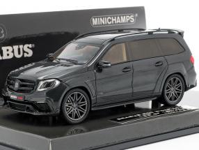 Brabus 850 Widestar XL based on AMG GLS 63 Construction year 2017 black metallic 1:43 Minichamps