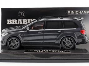 Brabus 850 Widestar XL based on AMG GLS 63 Construction year 2017 black metallic