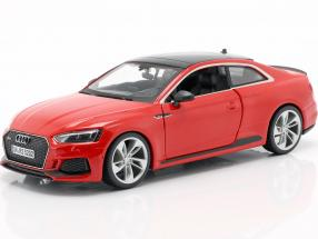 Audi RS 5 coupe red 1:24 Bburago
