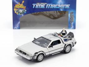 DeLorean Time Machine Back to the Future II 1:24 Welly