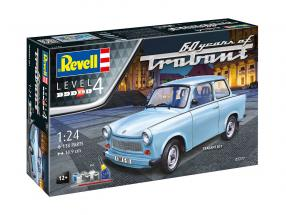 Trabant 601S kit light blue 1:24 Revell