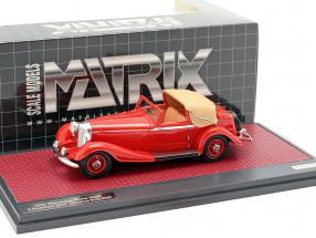 Mercedes-Benz 500K DHC Corsica Open Top year 1935 red 1:43 Matrix